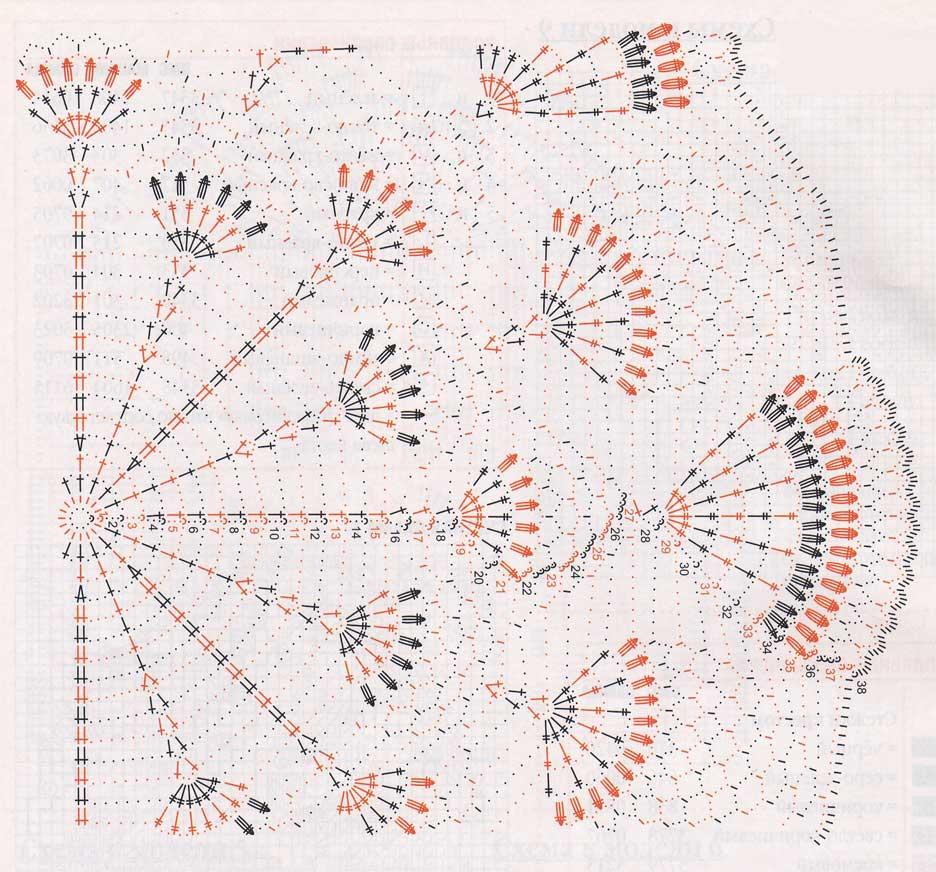 Гроздь винограда вязание крючком схемы